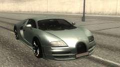 Bugatti Veyron Stock для GTA San Andreas