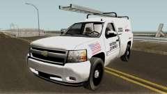 Chevrolet Silverado Verizon 2008 для GTA San Andreas