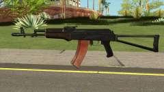 Новый автомат АК-47 для GTA San Andreas