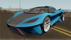 Overflod Tyrant GTA V IVF для GTA San Andreas