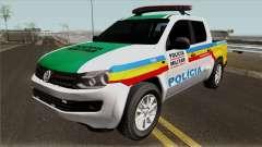 Volkswagen Amarok PMMG IVF для GTA San Andreas
