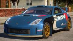 Nissan 350Z Rally Car DiRT2 для GTA 4