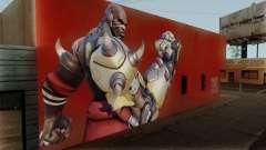 Doomfist Wall для GTA San Andreas