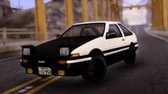 Toyota Corolla AE86 BW для GTA San Andreas