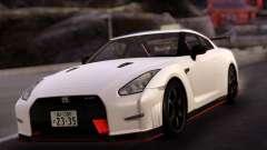 Nissan GTR Nismo White для GTA San Andreas