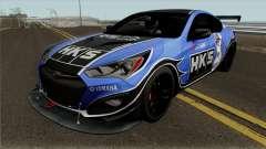 Hyundai Genesis Coupe HKS для GTA San Andreas