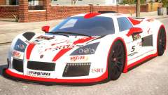 2011 Gumpert Apollo S N5 для GTA 4