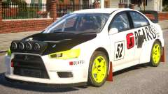 Mitsubishi Lancer EVOX PJ5 для GTA 4