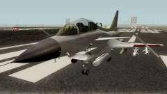 Chengdu J-10 Vigorous Dragon Gray для GTA San Andreas