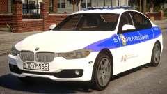 BMW M5 2015 Baku Police