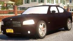 Dodge Charger RT 2007 Sedan для GTA 4