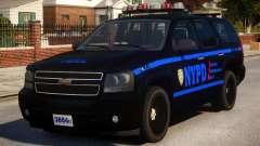 NYPD Police Tahoe [ELS] для GTA 4
