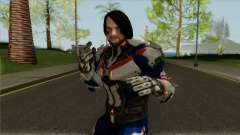 WWE Imortals AJ Style (Biker Suit) для GTA San Andreas