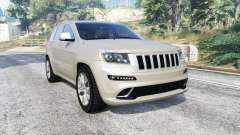 Jeep Grand Cherokee SRT8 (WK2) 2013 [replace] для GTA 5