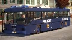 N1 Europe Police Bus Mod MAN 202 для GTA 4