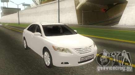 Toyota Camry White Sedan для GTA San Andreas