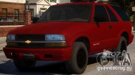 Chevrolet Blazer V1.1 для GTA 4