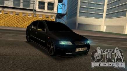 Opel Astra G Black Armenian для GTA San Andreas
