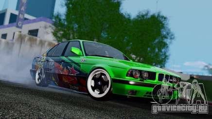 BMW E34 Evil Empire Team для GTA San Andreas