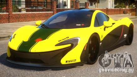 2014 McLaren P1 Harrods GTR для GTA 4