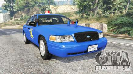 Ford Crown Victoria Police CVPI v2.0 [replace] для GTA 5