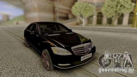 Mercedes-Benz W221 Stock для GTA San Andreas