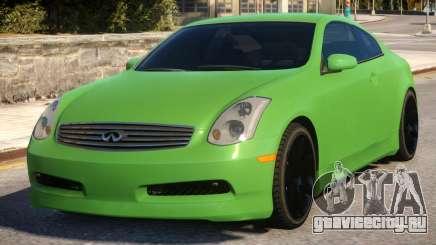 Infiniti G35 Coupe v2.1 для GTA 4