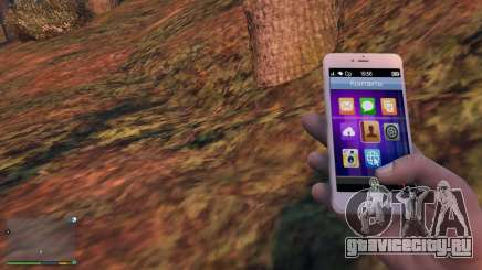 iPhone 6 Gold Michael для GTA 5