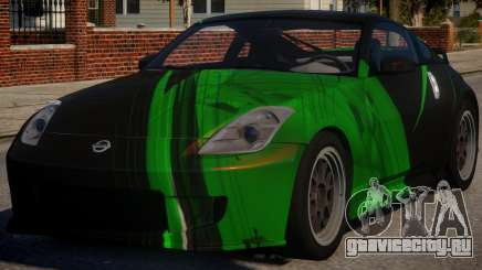 Nissan 350Z Underground PJ4 для GTA 4