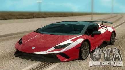 Lamborghini Huracan Perfomante Spyder для GTA San Andreas