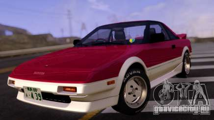 Toyota MR2 Red and White для GTA San Andreas