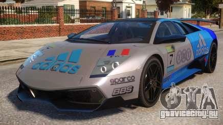 Lamborghini GT3 CUP Addidas Team для GTA 4