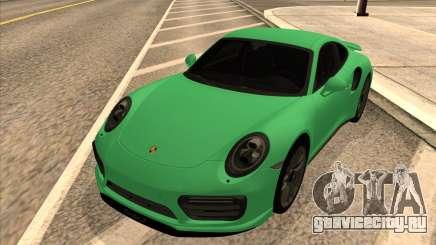 Porsche 911 Turbo S Green Tinted для GTA San Andreas