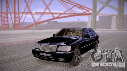 Mercedes-Benz S600 W140 Stock для GTA San Andreas