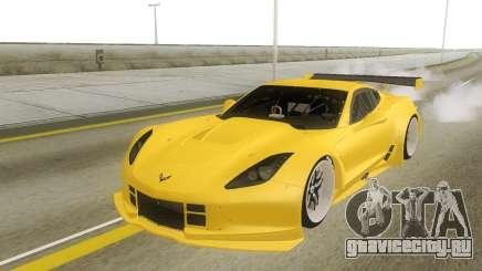 Chevrolet Corvette Z06 Yellow для GTA San Andreas