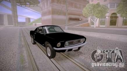 Ford Mustang GT Fastback 390 1968 для GTA San Andreas