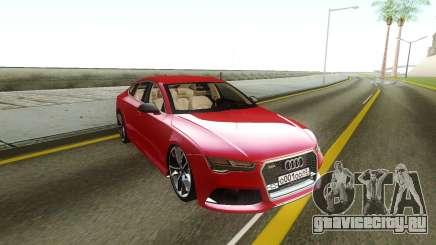 Audi RS7 Stock для GTA San Andreas
