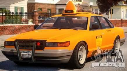 Taxi New York City для GTA 4