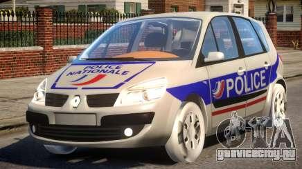 Renault Scenic II Police для GTA 4