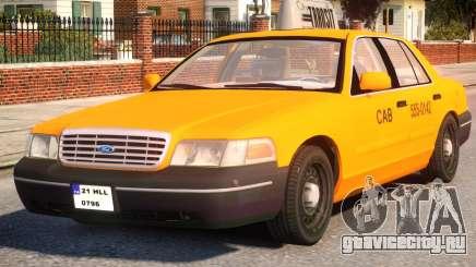 Ford Crown Victoria Taxi Cab для GTA 4