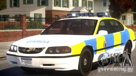 Chevrolet Impala Police Sedan для GTA 4