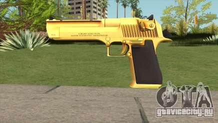 Desert Eagle Gold Gun для GTA San Andreas