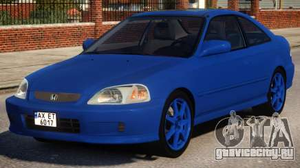 Honda Civic Si 1999 Coupe для GTA 4