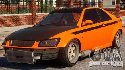 Sultan RS to Subaru Impreza STI для GTA 4
