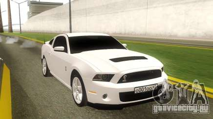 Ford Mustang Shelby GT500 Stock для GTA San Andreas