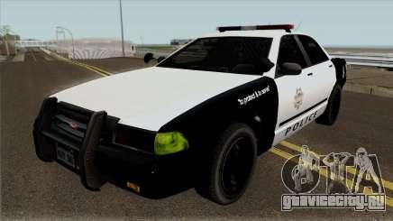 LVPD Vapid Stanier GTA V для GTA San Andreas