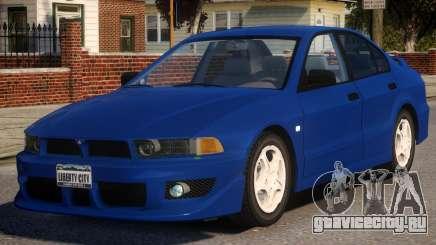 1998 Mitsubishi Galant для GTA 4