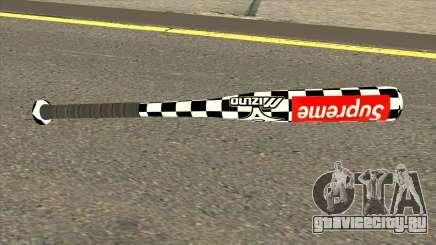 Supreme Baseball Bat для GTA San Andreas