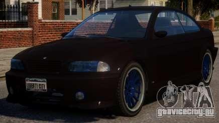 BMW M3 Xenon для GTA 4