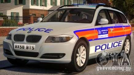 Metropolitan BMW 3 Series Galaxy Version для GTA 4